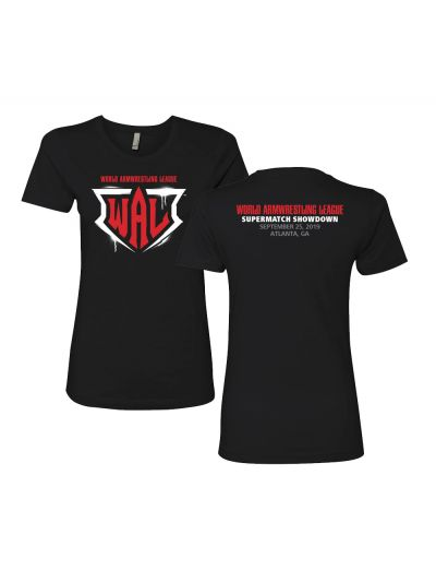 Ladies World Armwrestling League 506 Championship Special Edition T-Shirt